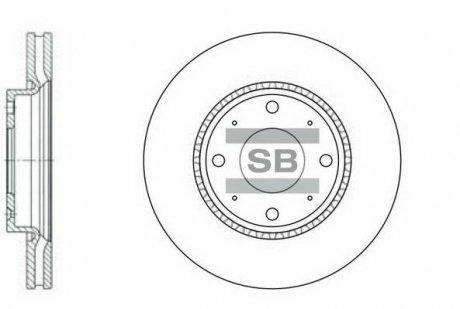 SD2029 Hi-Q (SANGSIN) Тормозной диск