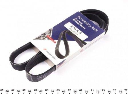 970K5 HUTCHINSON Поликлиновой ремень Poly V® BMW 7 (94-01)/Citroen Break (85-95)/Daewoo/Fiat Tempra () Hutchinson