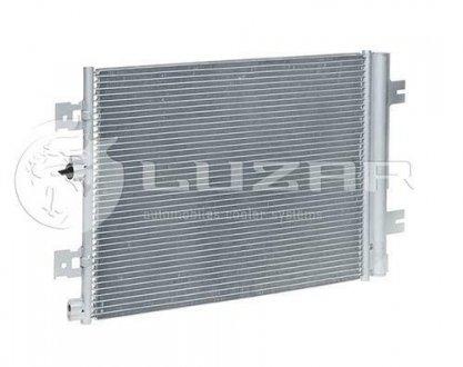 LRAC 0961 LUZAR Радиатор кондиционера Largus (12-)/Renault Logan (08-)/Duster АКПП/МКПП С ресивером () Luzar