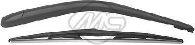 68111 Metalcaucho Щетка стеклоочистетеля С поводком задняя RENAULT LAGUNA II (BG0/1),(KG) (01-07) 500мм ()